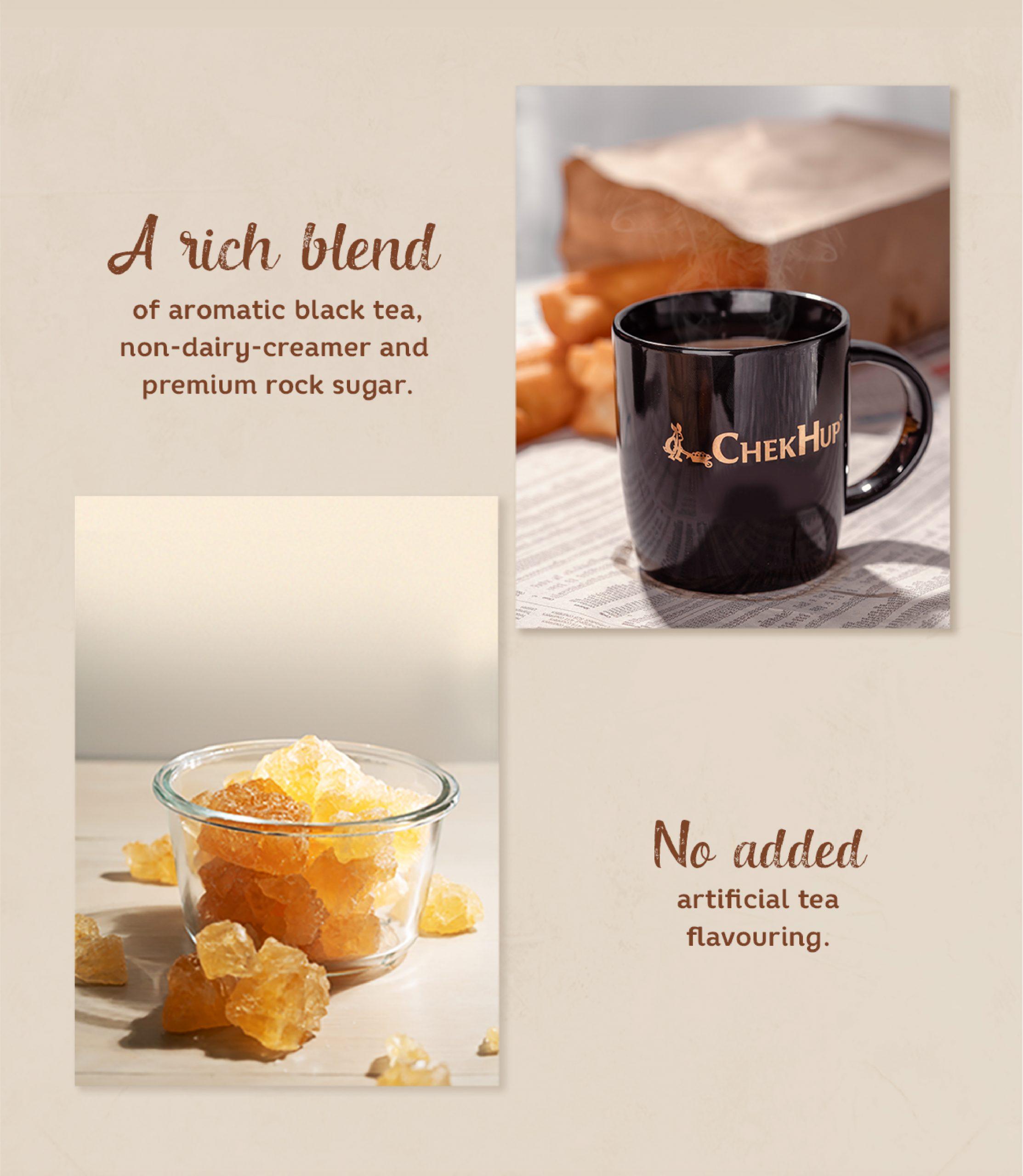 Teh Tarik 3 in 1 - Rich & Creamy - Chek Hup Ipoh White Coffee