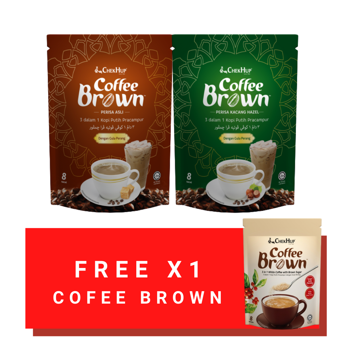Chek Hup Coffee Brown