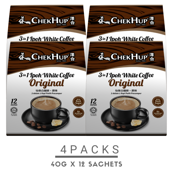 Chek Hup White Coffee 3 in 1 Original